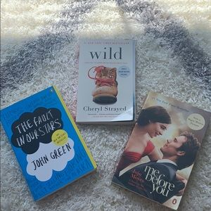 Other - 3 for $10! Fault in our stars, Wild, Me Before you